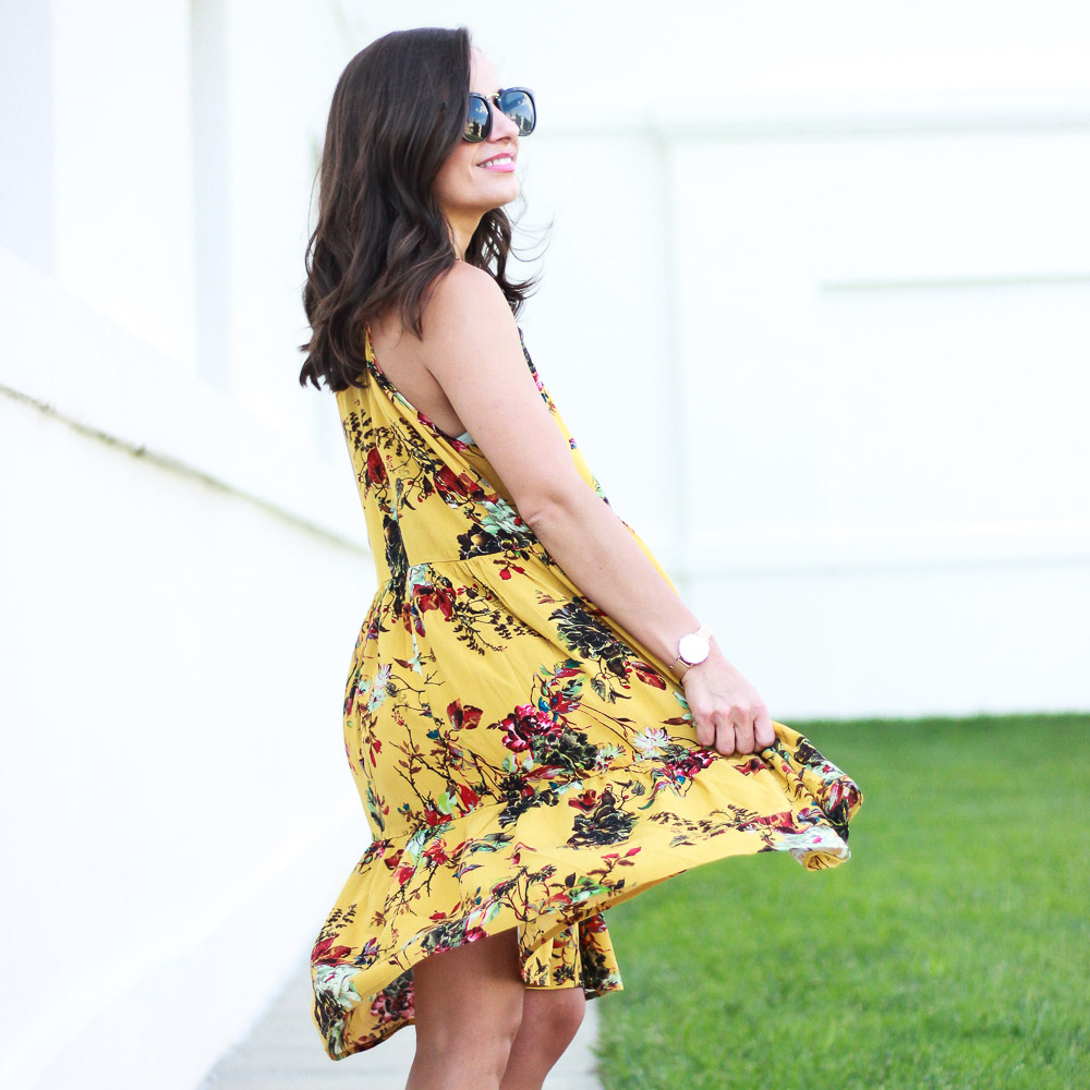 Boho Floral Dress Vibes with PinkBlush