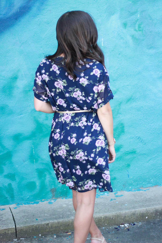 Modest Fashion Floral Dress