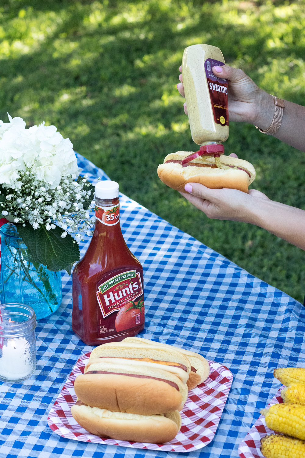Cheddar Stuffed Hotdog Recipe, Summer BBQ Inspiration