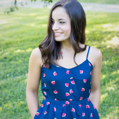Watermelon Print Dress