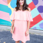 Bachelorette Party Dress Code: Coral Dress