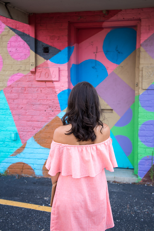 Coral Dresses: Wedding Season Outfit Idea