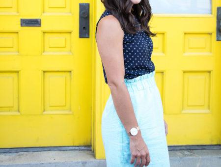 Scallop Skirt, Preppy Style