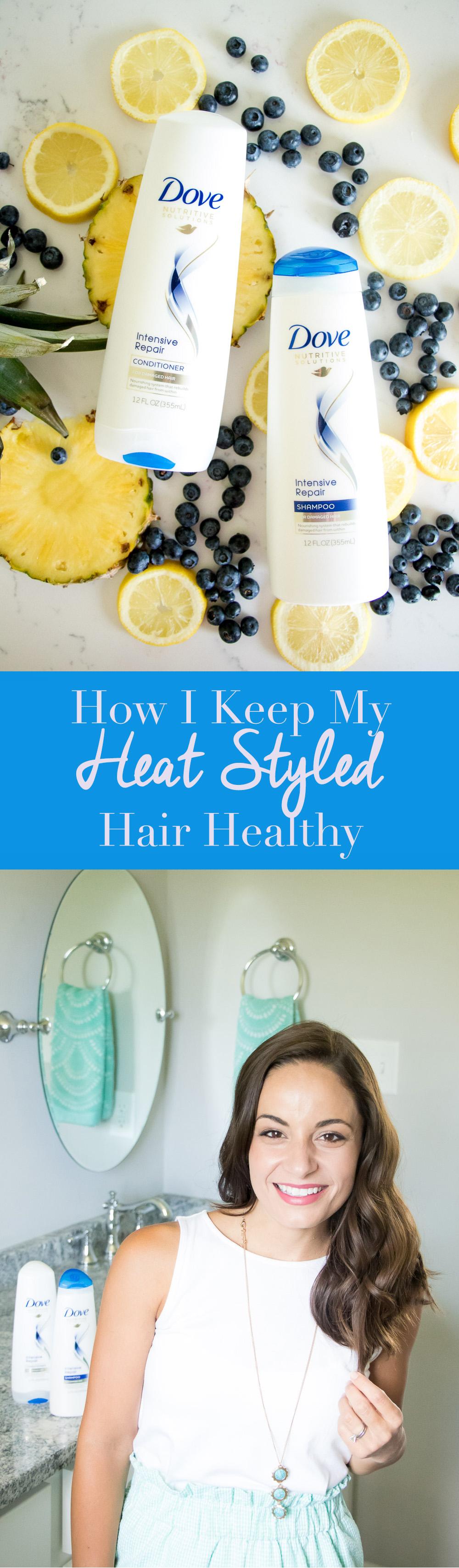 How I Keep My Heat Styled Hair Healthy