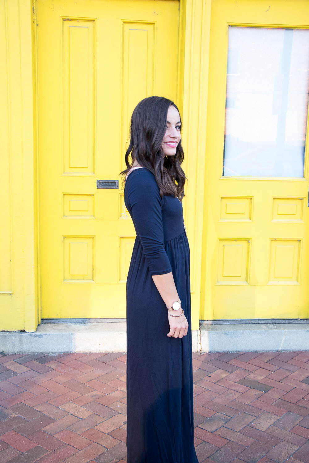 Pink Blush Maxi Dress - Mom Outfit