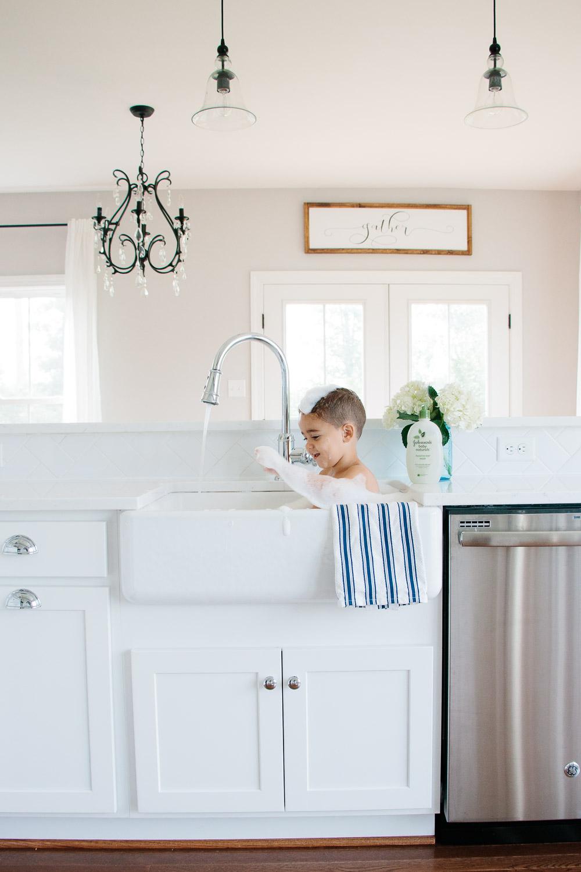 Johnson's Baby Soap, Apron Sink Baby Bath