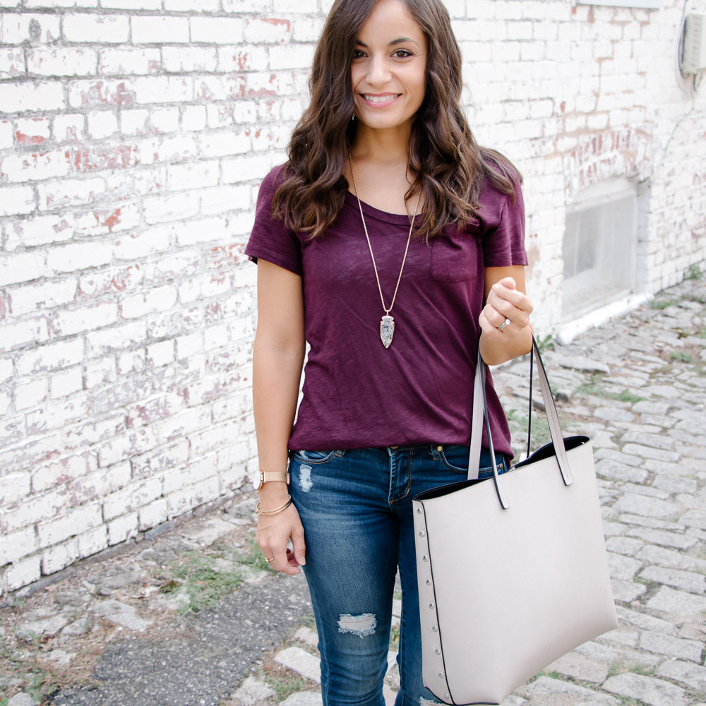 Three Things Your Basic T-Shirt Style Needs & Oh, Hey Girl! Link-Up