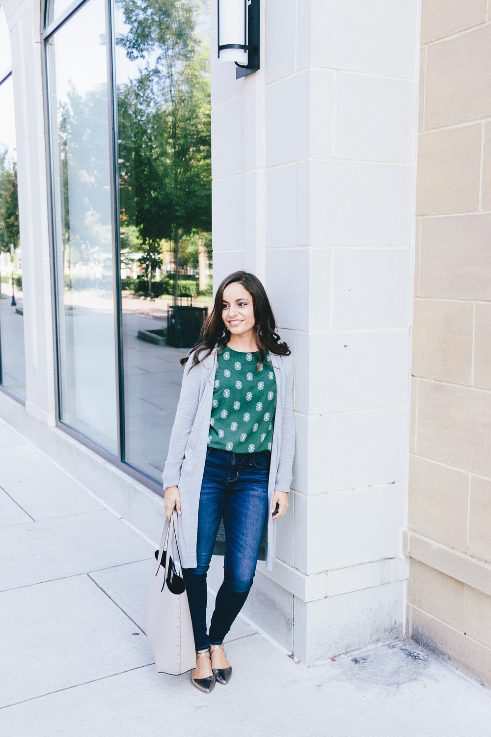Brooke of Pumps & Push-Ups - Petite Fashion Blogger
