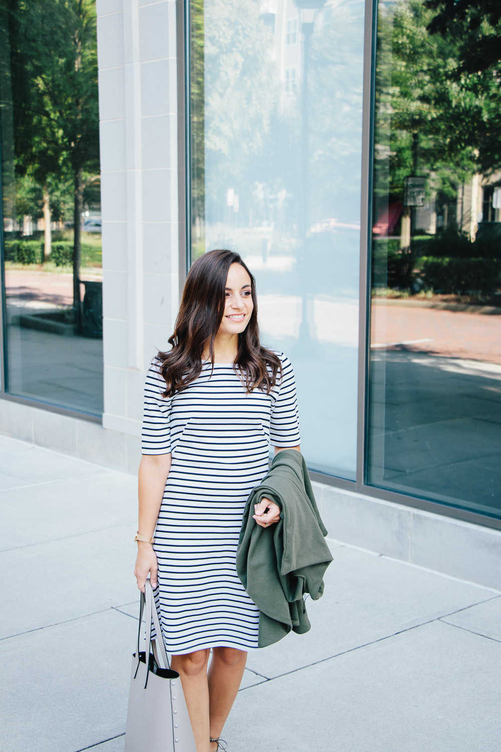 Striped Dress by All For Color