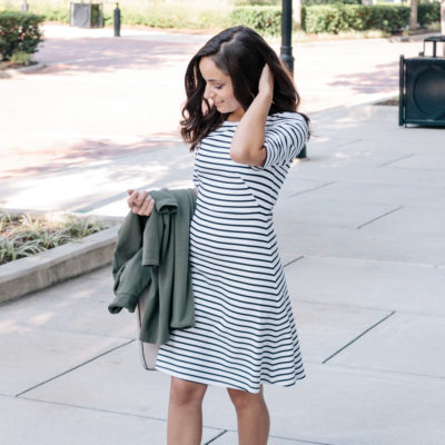 Classic Black and White Dress & Oh, Hey Girl! Link-Up