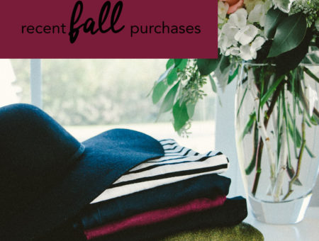 Recent Fall Buys - Blogger Brooke of Pumps & Push-Ups