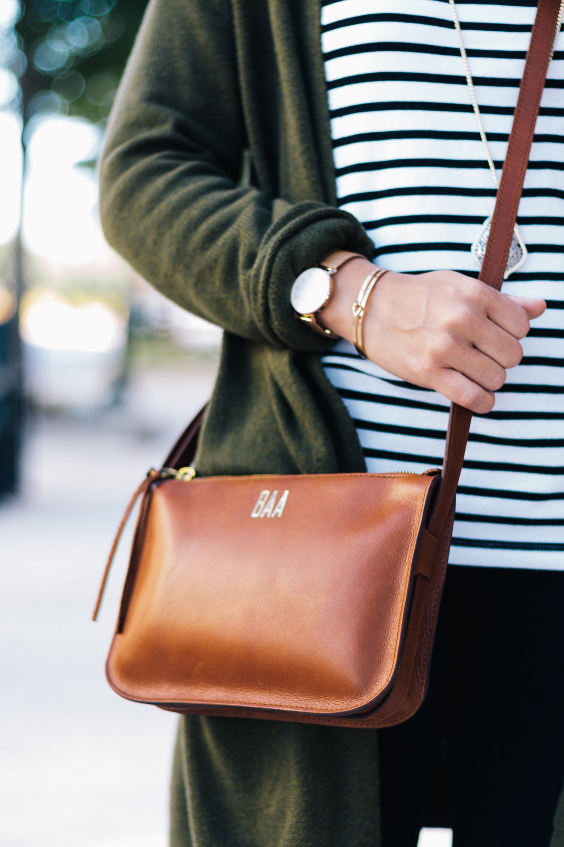 Madewell Crossbody Monogrammed Crossbody Bag