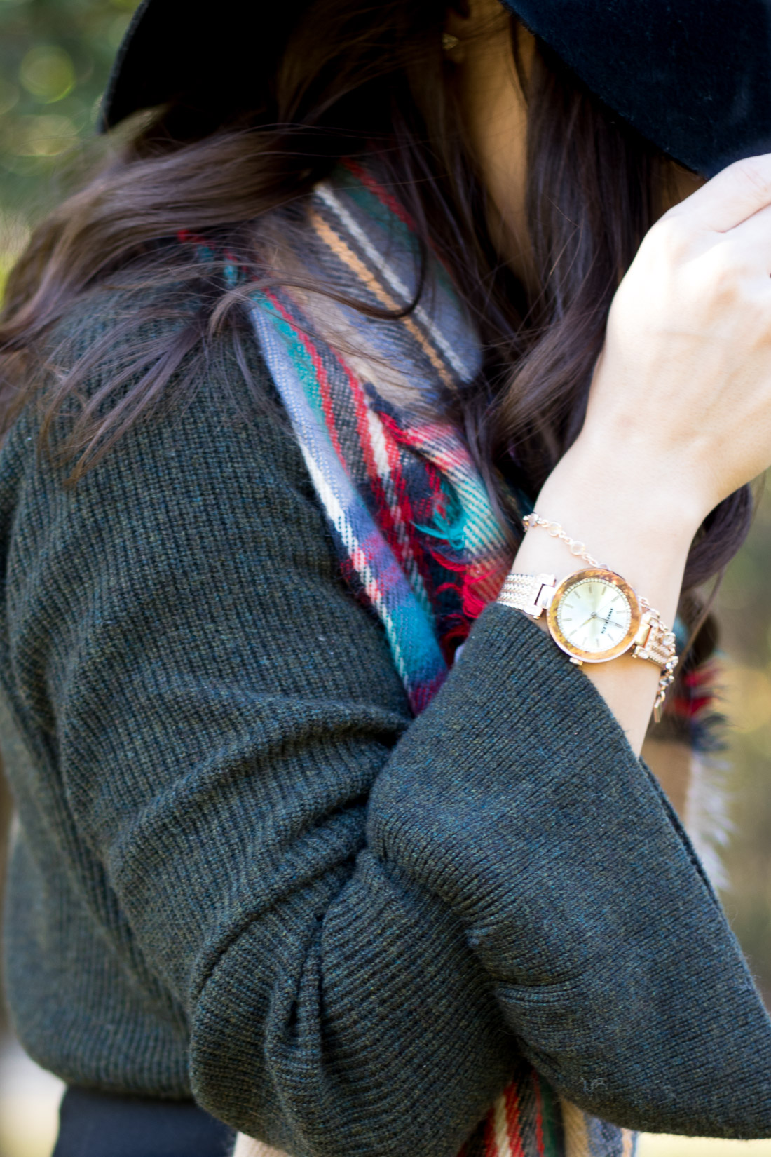 Holiday Outfit with Anne Klein Watches