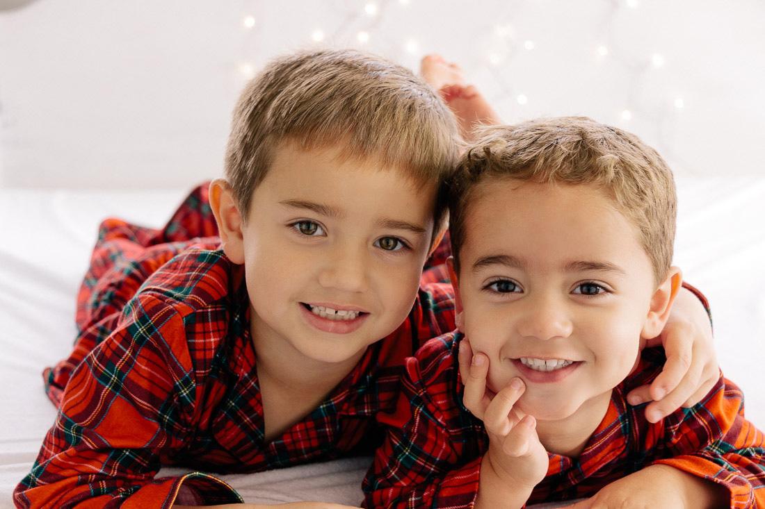 Christmas photos DIY with Kids