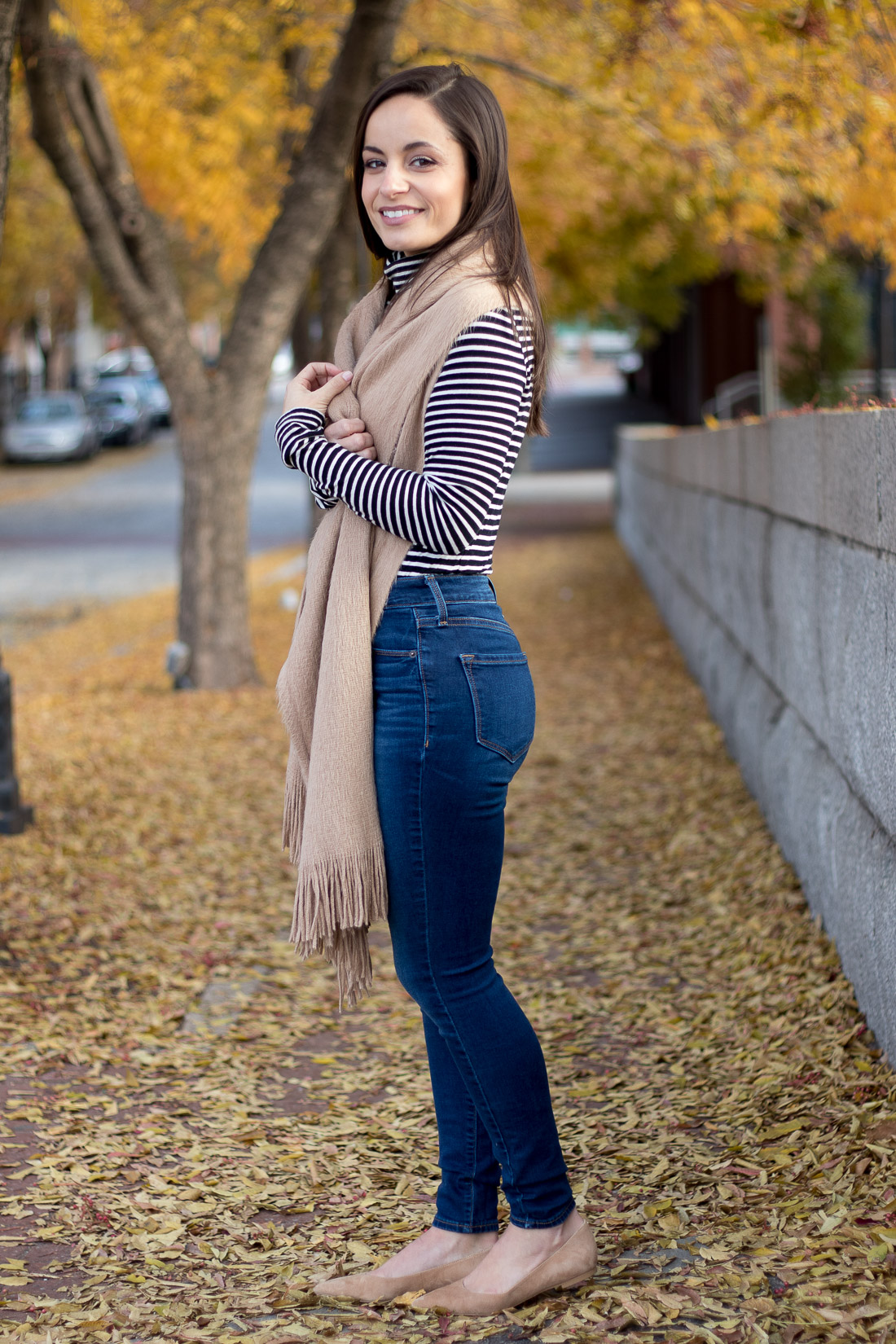 Old Navy Rockstar Jeans, Styled for fall