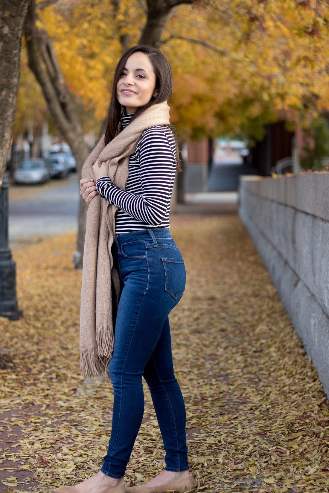 H&M Scarf - Free People Scarf look for less