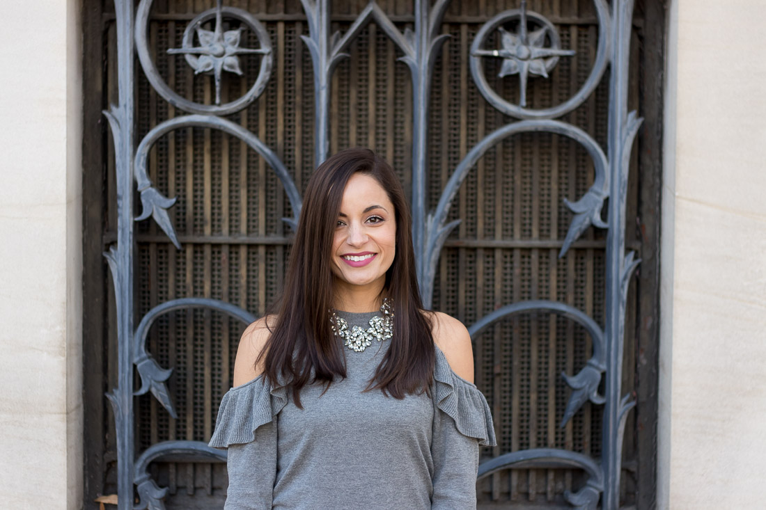 Baublebar SugarFix Jewelry with Cold Shoulder Sweater