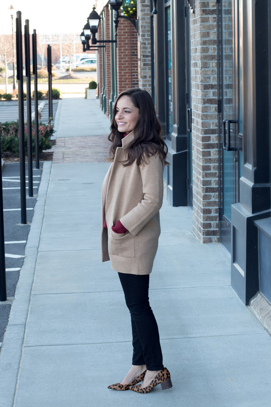 J. Crew Sweater for women, styled by Brooke of Pumps & Push-Ups