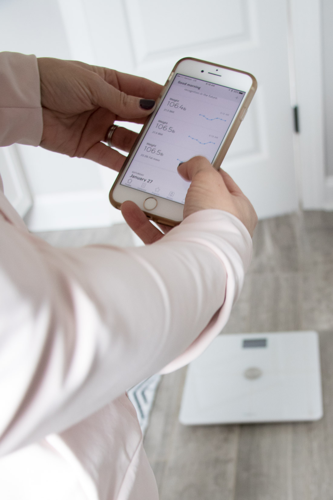 Nokia Body + Scale Health Mate App