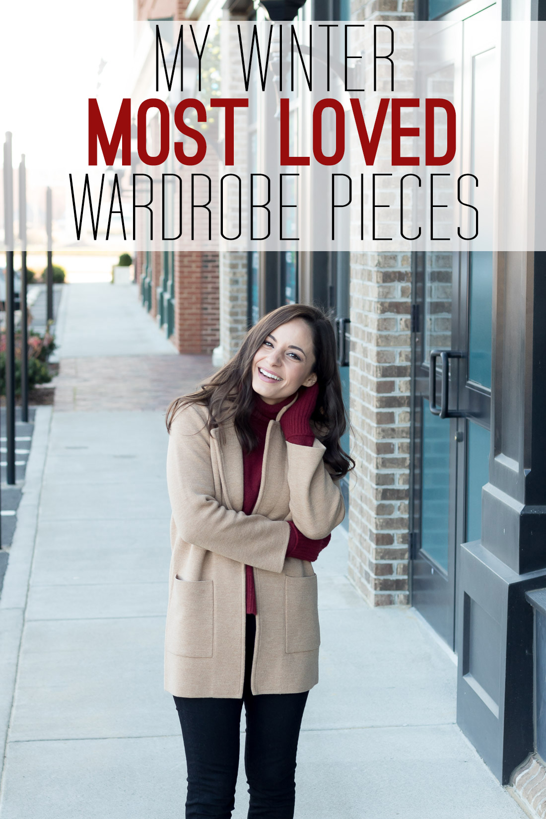 My most loved winter wardrobe pieces for women.