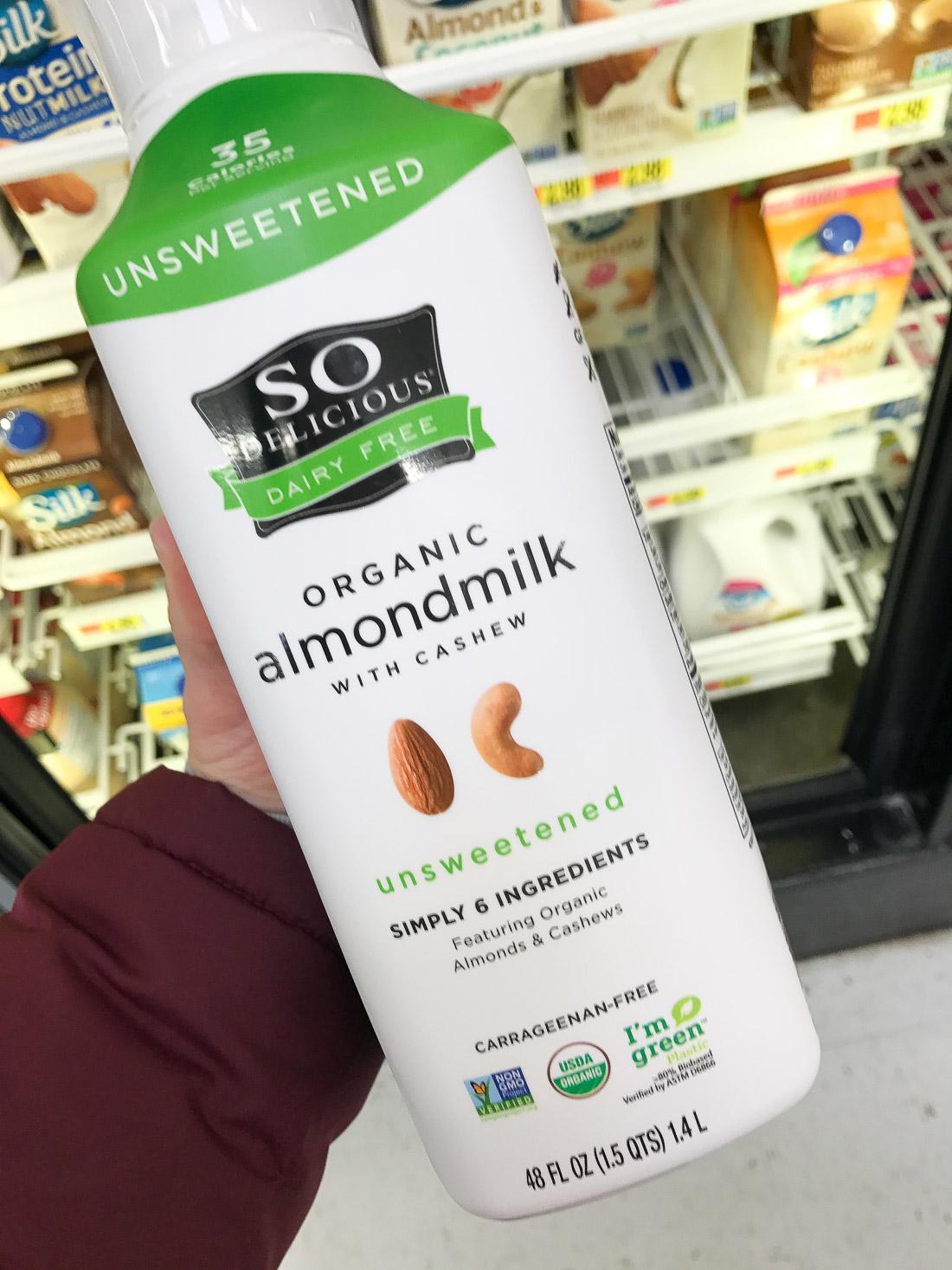 So Delicious Almondmilk at Walmart