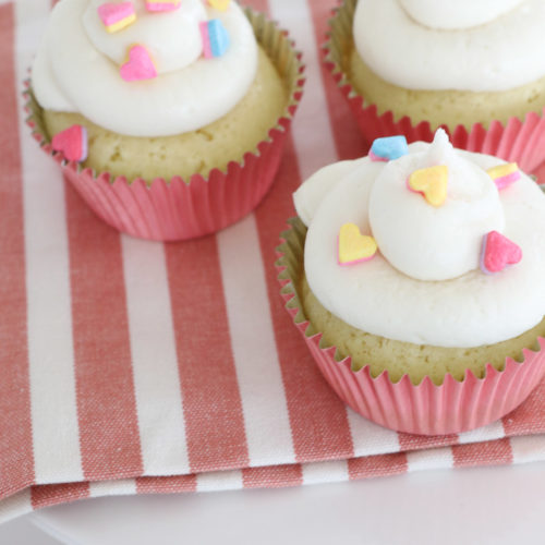 Dairy Free Vanilla Icing and Cupcakes