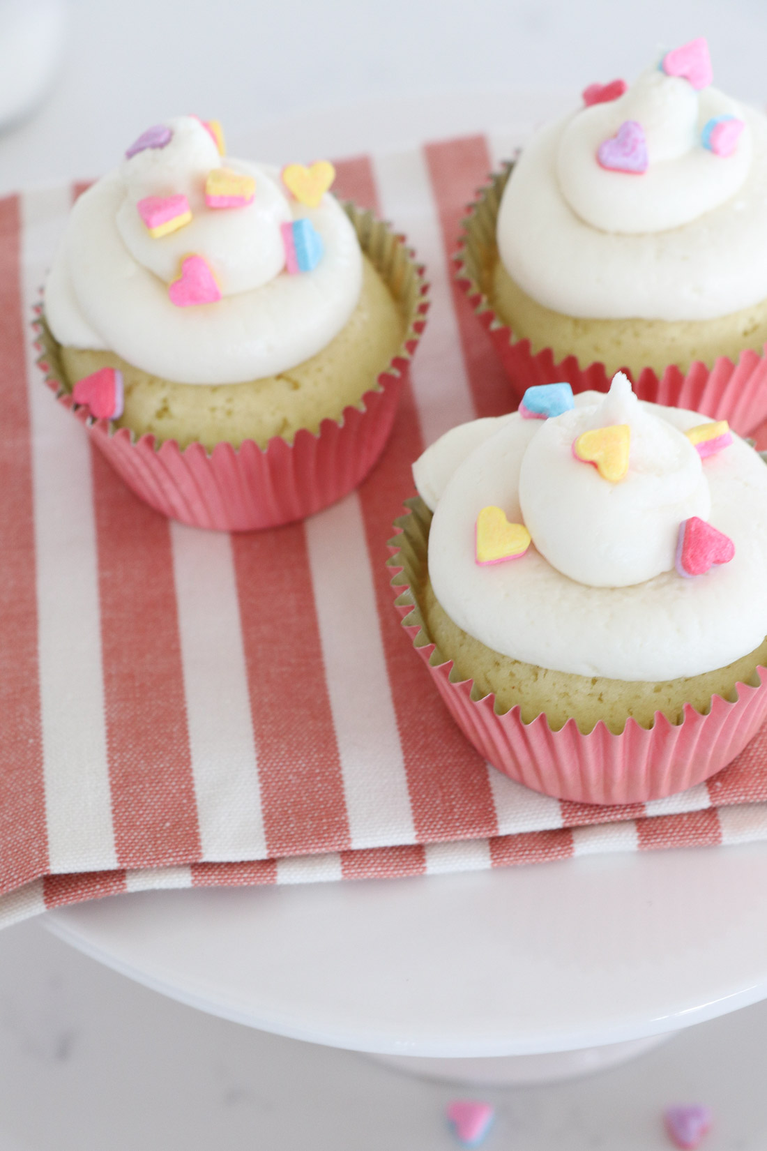 Dairy Free Vanilla Icing and Cupcakes
