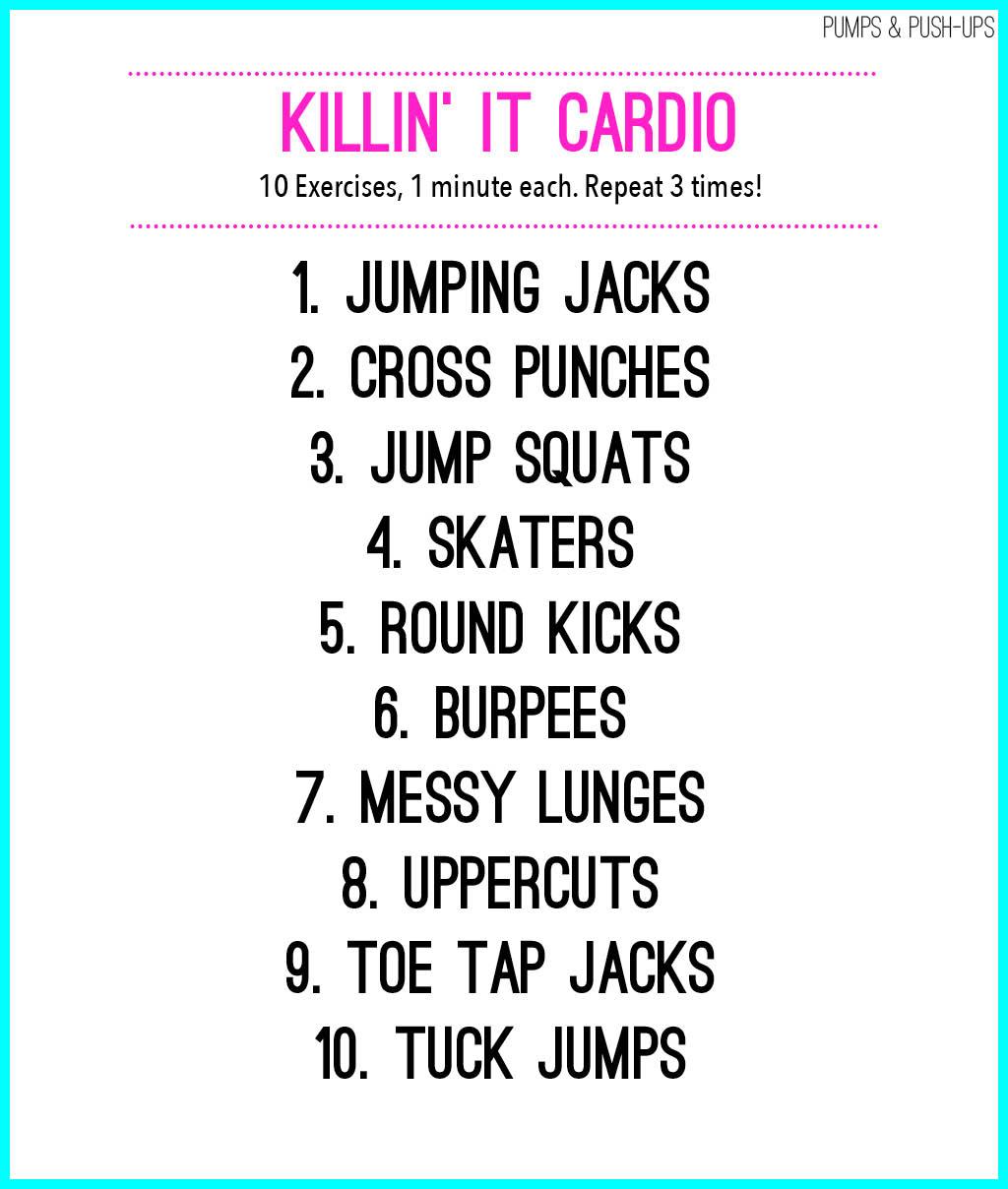 Cardio Workout: Killin' It Cardio Workout