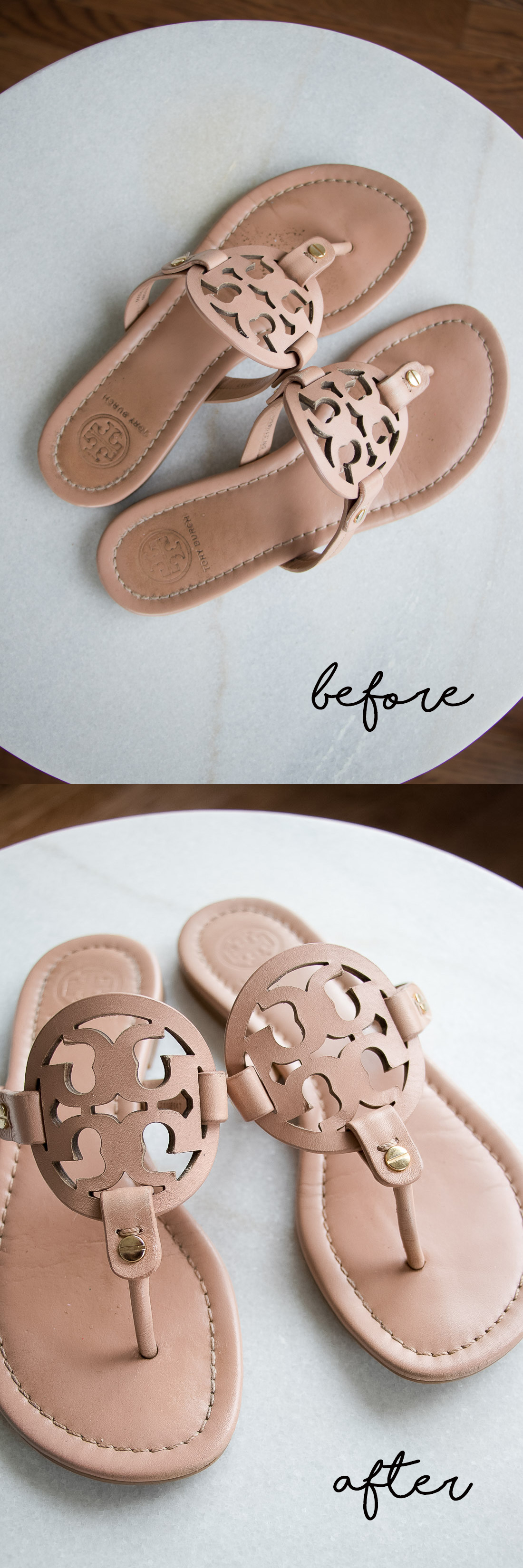 How To Clean Leather Sandals Tory Burch Miller Sandals