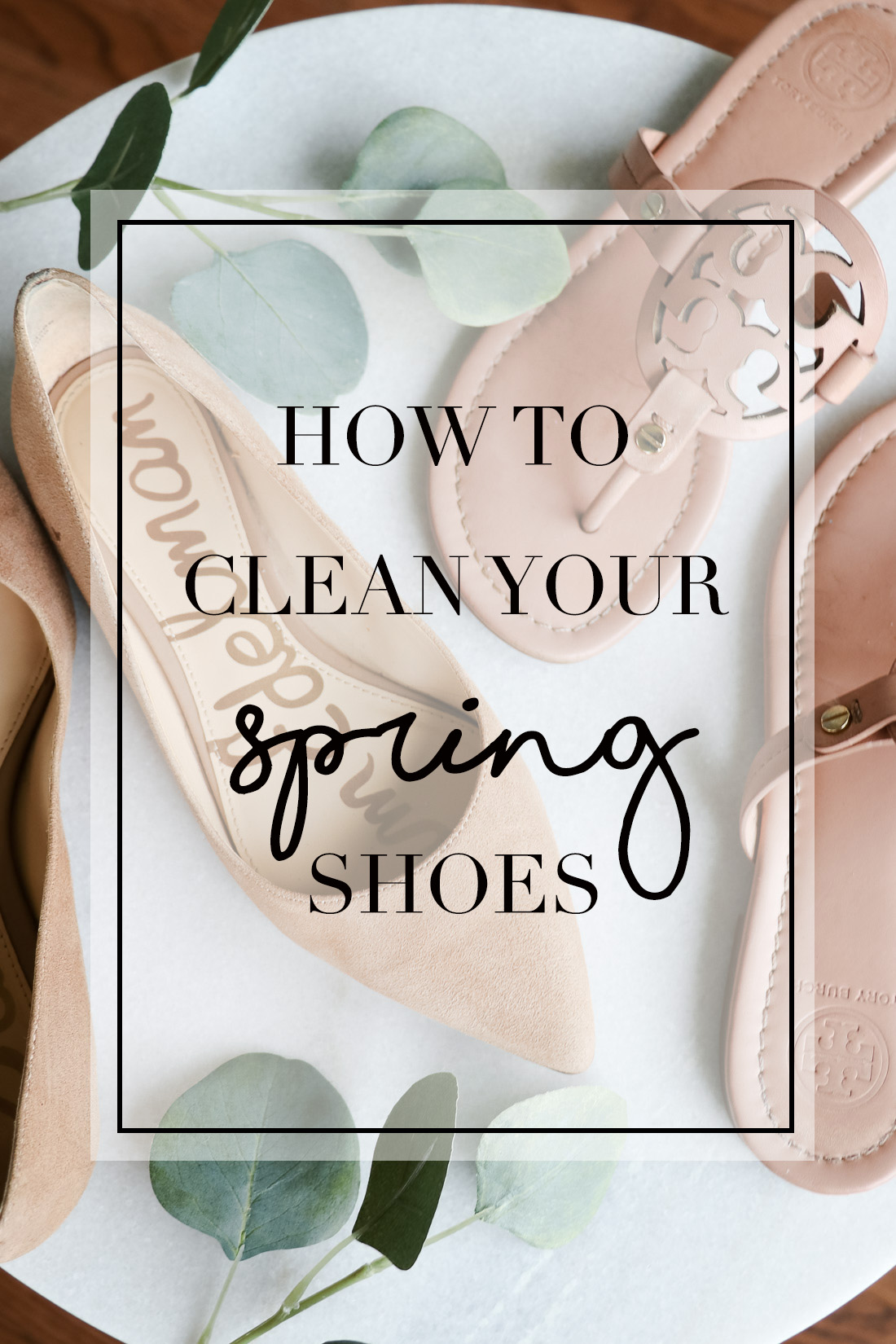 cb171e27b97 How To Clean Your Spring Shoes