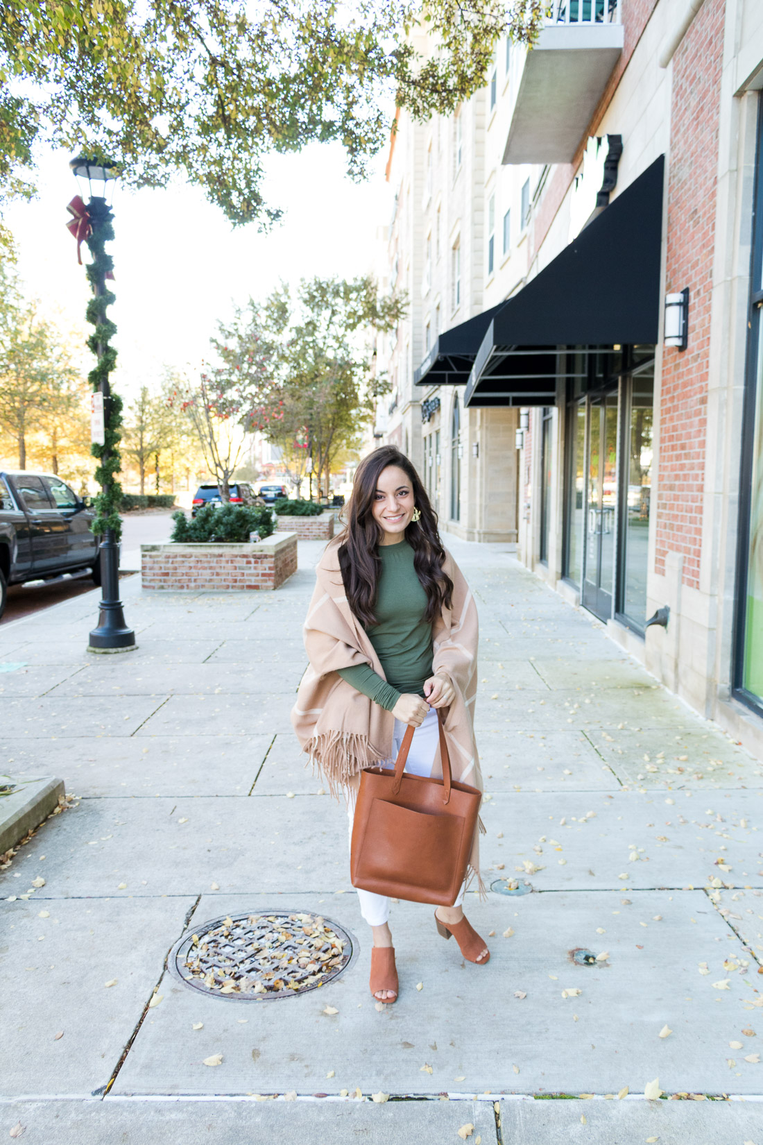 Cuddl Duds Softwear tee outfit via pumps and push-ups blog | petite style | fall style | fall outfit