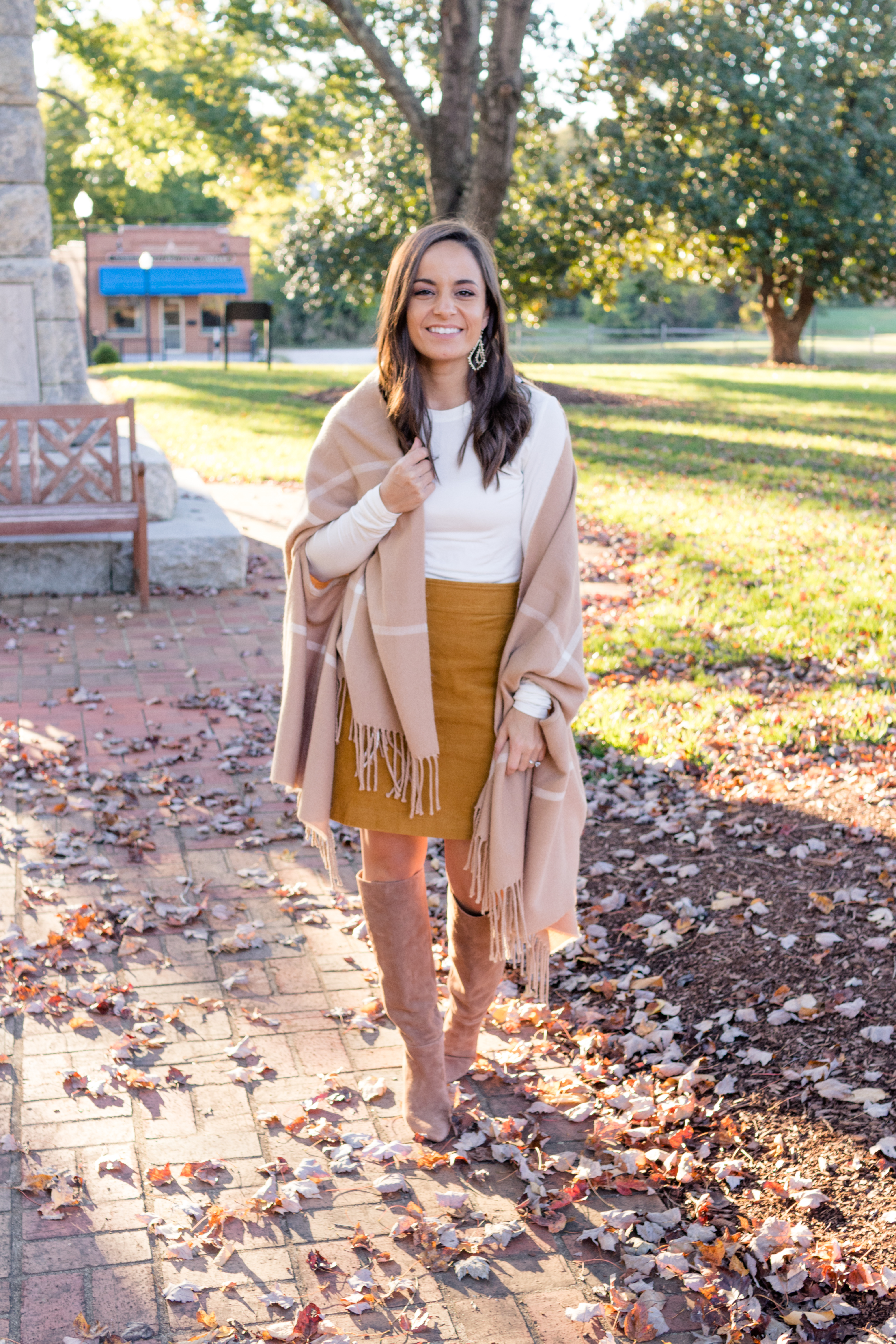 Fall outfit with Cuddl Duds via Pumps and Push-Ups Blog | Petite style blog | fall outfit | fall fashion