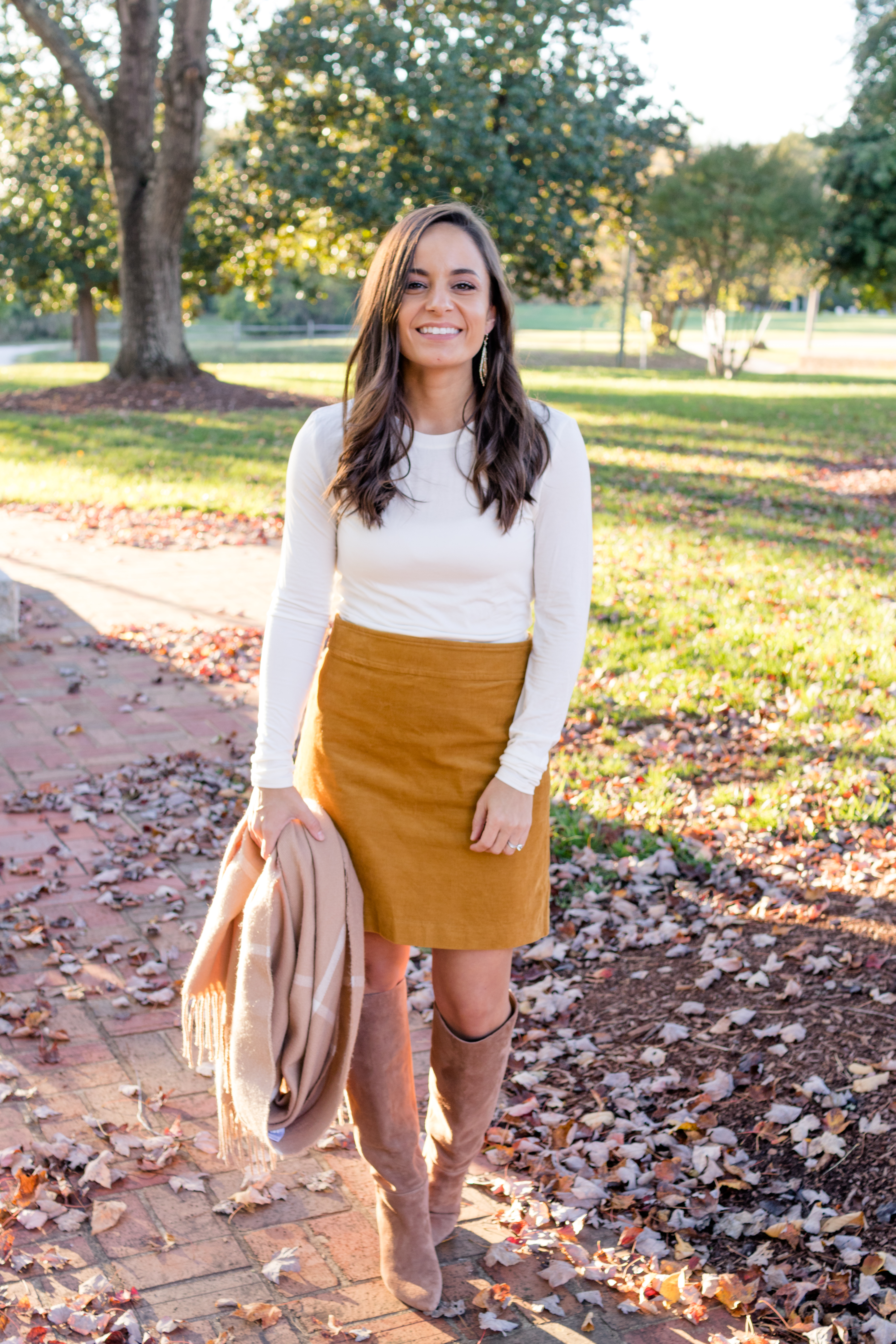 Fall outfit via pumps and push-ups blog | fall style | petite style | cuddl duds