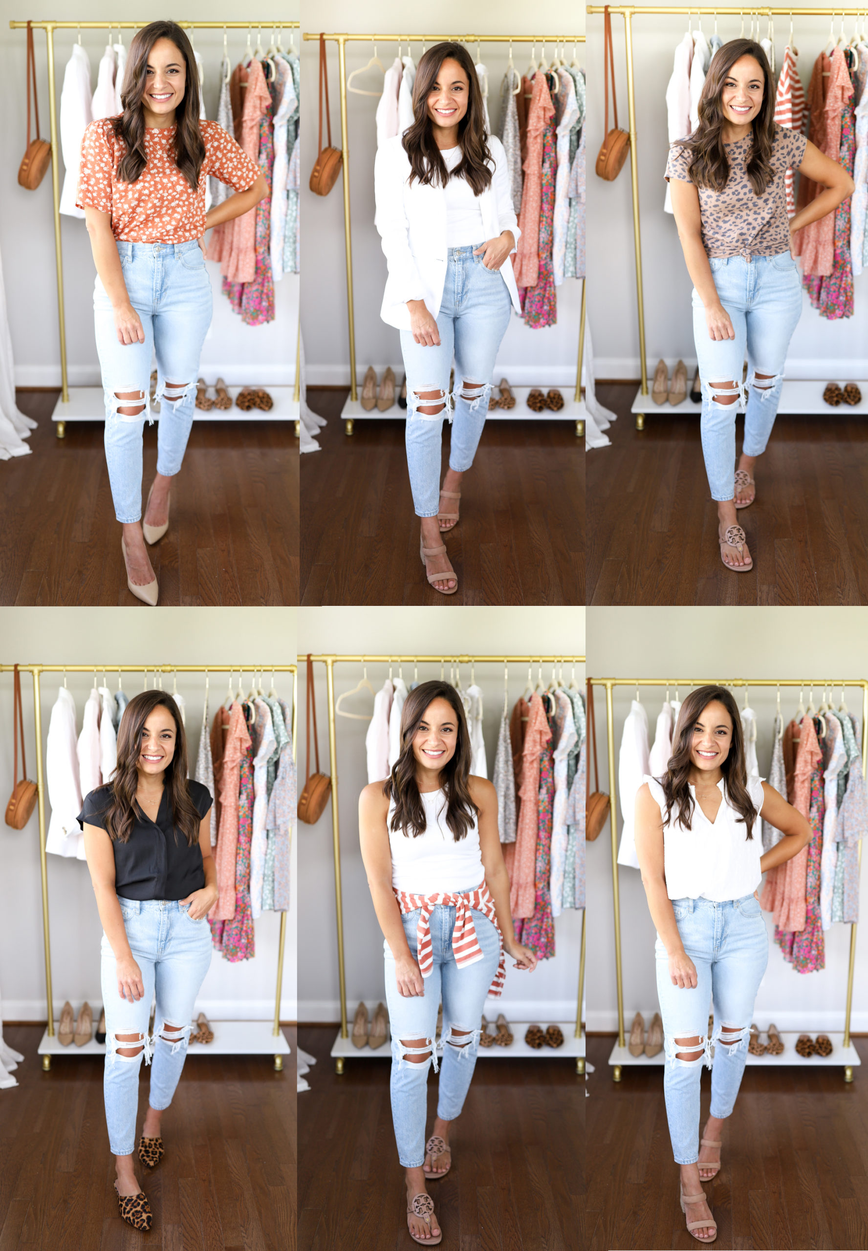 Six Ways to Wear Mom Jeans  Pumps & Push Ups