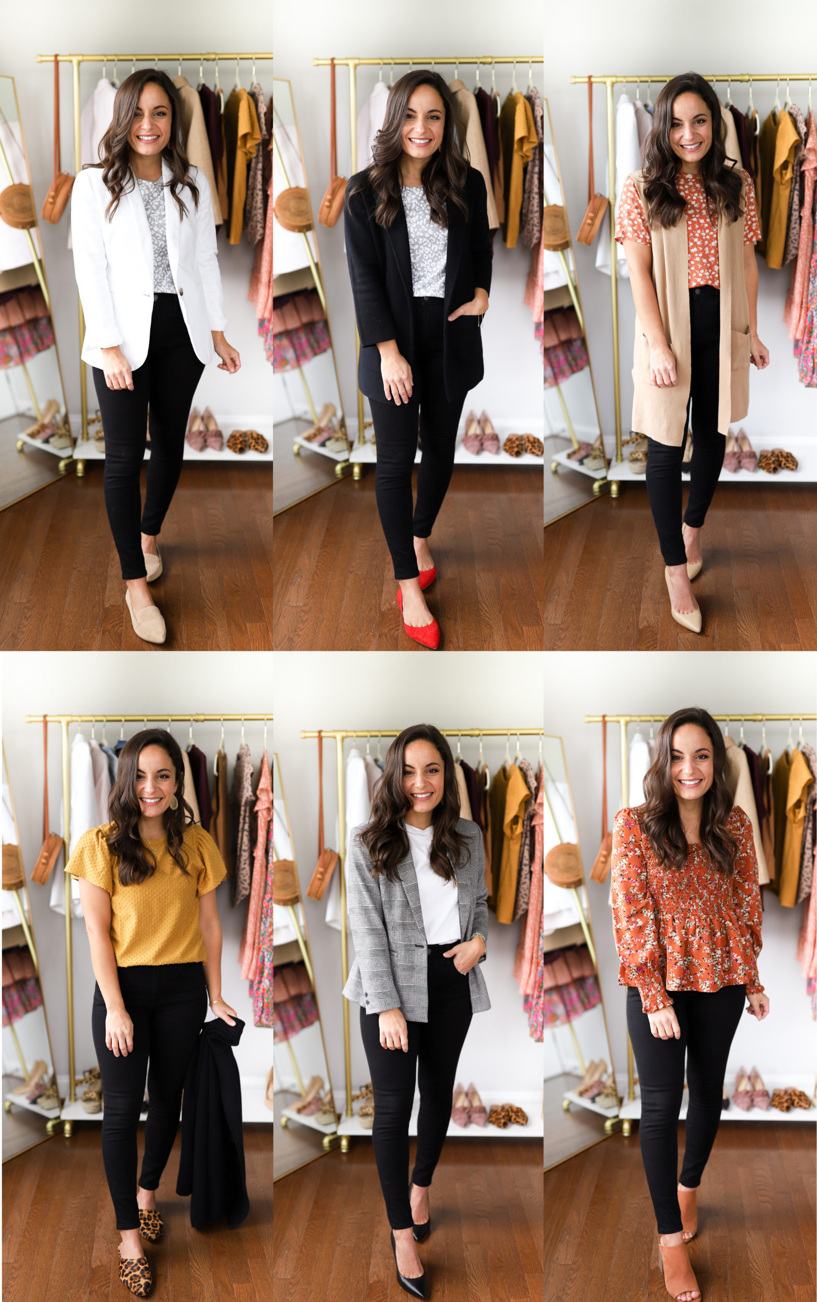Six Ways To Wear Black Jeans To Work Pumps Push Ups
