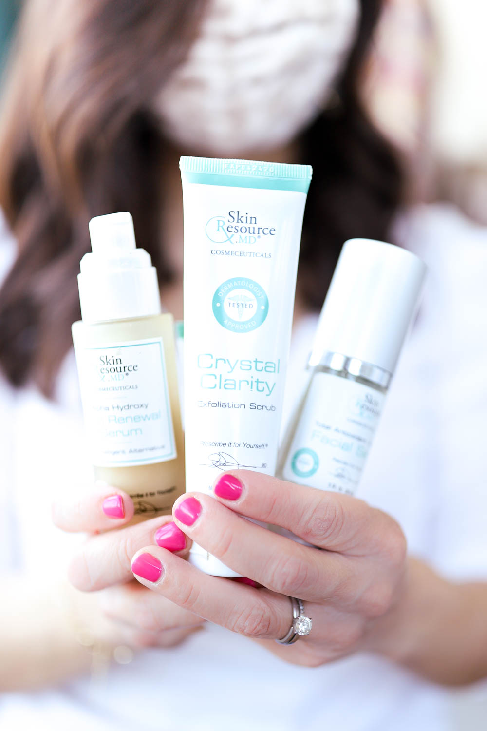 My favorite exfoliating and nourishing skincare products | skincare tips | pumps and push-ups blog skincare